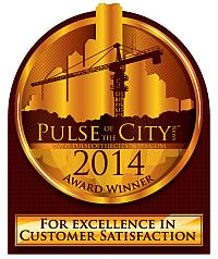 Cranbury Company received the 2014 Pulse of the City Award